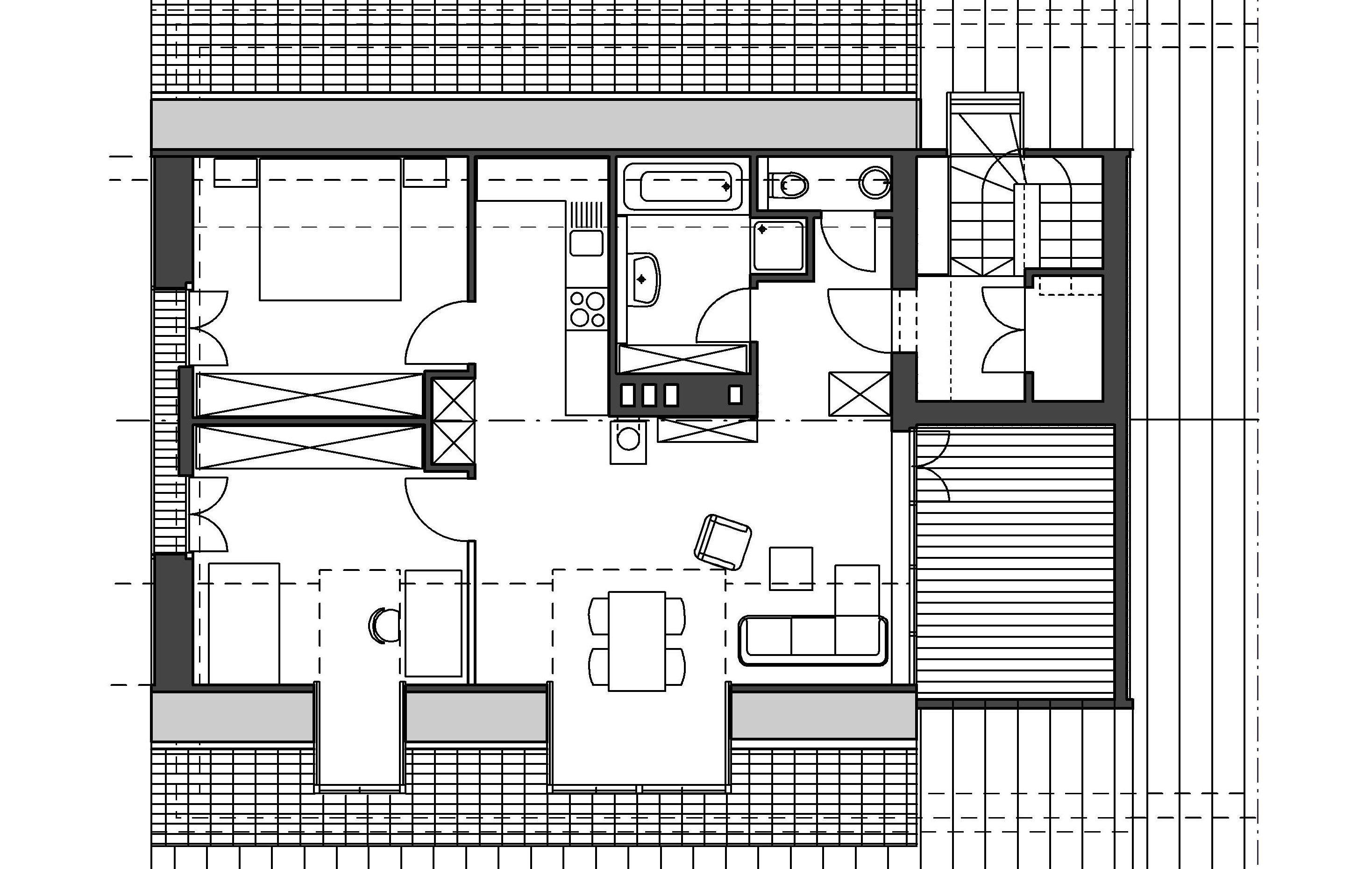 Dachterrassenwohnung